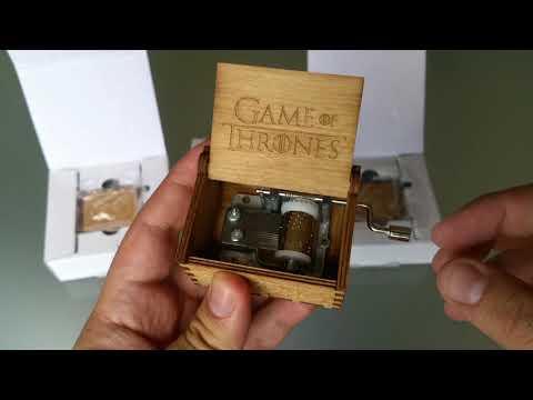 Caja musical de Game of Thrones Juego de Tronos - A la venta