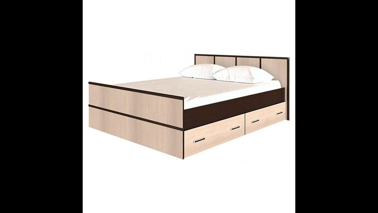 Кровать сакура с ящиками схема сборки