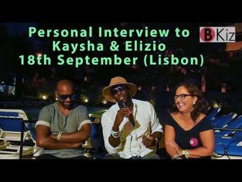 KAYSHA & ELIZIO interview by Bea Soto (BKiz) LIKE FESTIVAL 2016