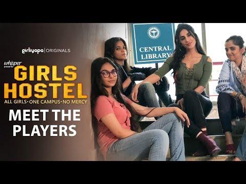 Girls Hostel | Character Trailer || Girliyapa Originals