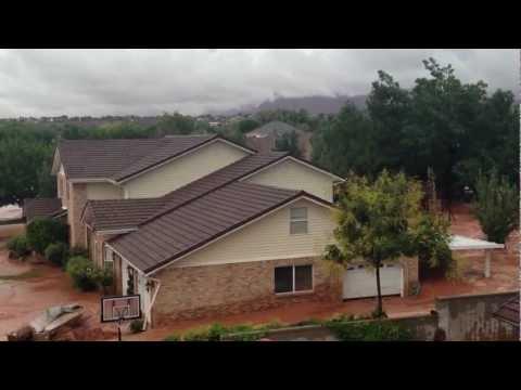 Santa Clara, Utah dike flood 9/11/12 - 4