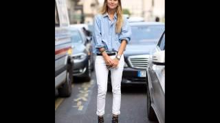 видео С чем носить белые джинсы: советы и фото