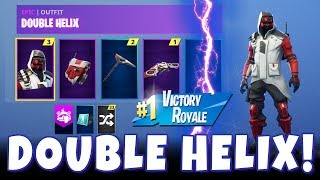 FORTNITE BATTLE ROYALE SEASON 6! New Double Helix Skin + Playing with Streamer Friend DarkArmedTTV!