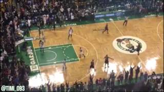 Paul Pierce scores his final points in the TD Garden (02/05/2017)