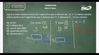 Exercicios divisibilidade 5 serie