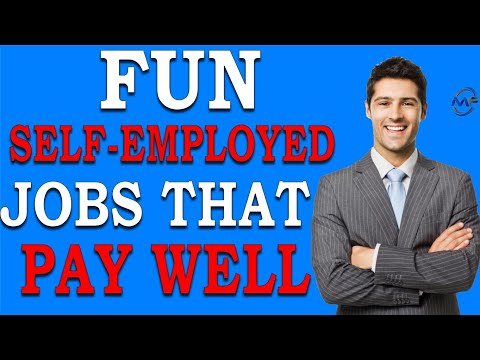 The most fun self-employed jobs that pay well