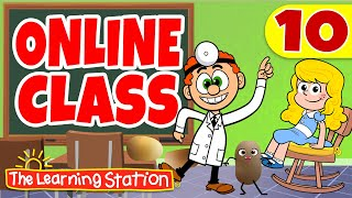 Online / Virtual Classroom #10 ♫ Dr. Knickerbocker ♫ Kids Learning Songs by The Learning Station