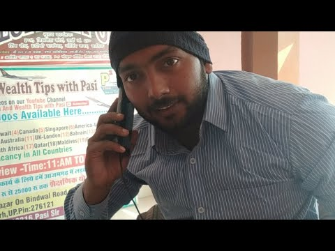 Live For About jobs tips Call And Talk With Mr. Pasi Sir