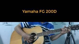 Test âm thanh Guitar Yamaha FG 201B, Yamaha FG 200D, Morris W20