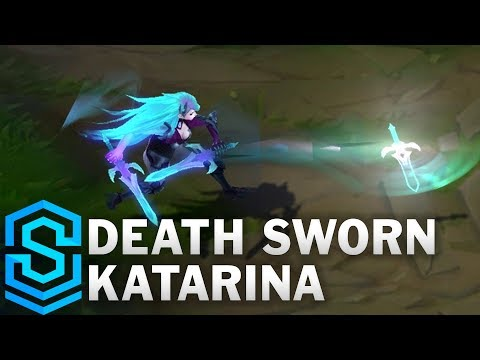 Death Sworn Katarina Skin Spotlight  League of Legends