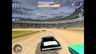 Dirt Track Racing 2 Epic Fail in Race!