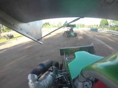 Rebel Outlaws Chuck (#5) hotlaps GoPro