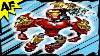 iron man ultra build 4529 lego marvel avengers super heroes stop motion review