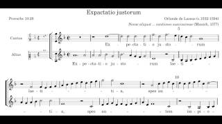 Video Orlande de Lassus - 'Expactatio Justorum' (Clarinet Duet) download MP3, 3GP, MP4, WEBM, AVI, FLV September 2018