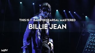 """[Instrumental] """"BILLIE JEAN"""" - This Is It Band Rehearsal (Mastered by MJFV) 