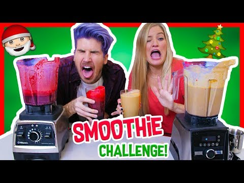 Download Youtube: CHRISTMAS SMOOTHIE CHALLENGE w/ iJustine!