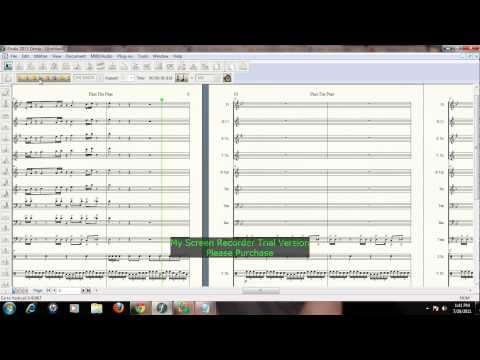 Pass The Peas Arranged By Kevin Lopez for Marching Band Sheet Music