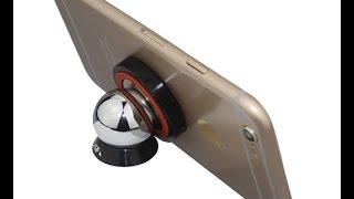 Видео обзор автомобильного магнитного держателя для телефона на липучке(, 2017-04-13T13:23:34.000Z)
