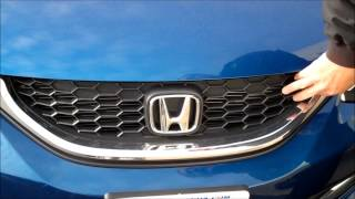 2013 Honda Civic Front End Redesign