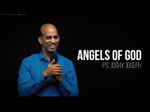 Malayalam Christian Message // Angels of God -  Ps.  Joshy Joseph // Sunday Service(08-July-2018)