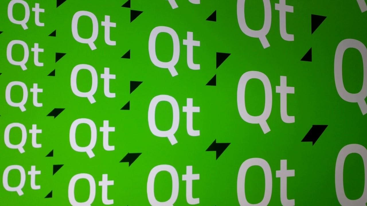 Qt 5 10 beta running w/eglfs on Tinkerboard @4k