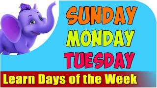 Learn Days of the Week Name – Days of the Week Kids Song