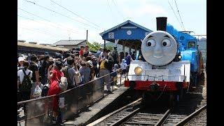 今年もきかんしゃトーマス号が大井川鉄道にて運行開始、7月21日からはジェームス号も登場!!