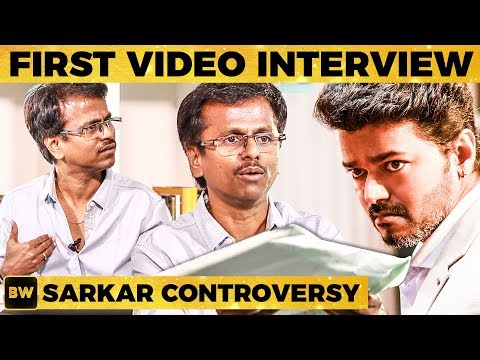 AR Murugadoss Hits Back with Proof - UNCUT Video Interview - Sarkar Controversy | MY 374