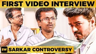 #Sarkar AR Murugadoss Hits Back with Proof - UNCUT Video Interview - Story Controversy | MY 374