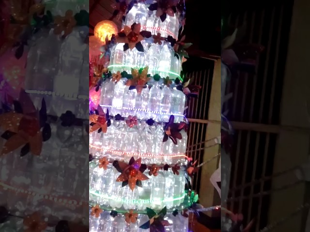 Recycable Christmas Tree Making Contest 2016
