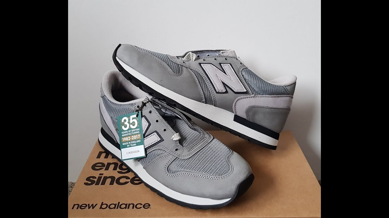 Unboxing Unpacking New Balance M770FA 35TH Anniversary made in England 1982 2017