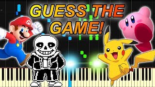 Can You Guess A Game By Its Music? (10 Game Themes On Piano)