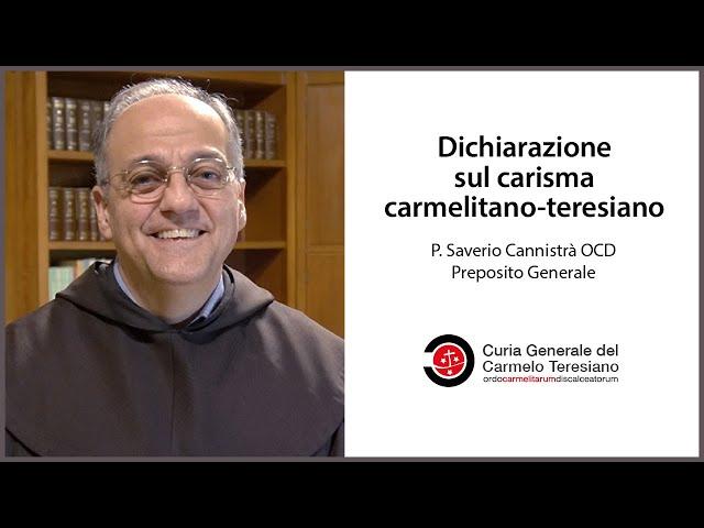 Dichiarazione sul carisma carmelitano-teresiano |