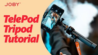 JOBY TelePod Tripod Tutorial screenshot 1