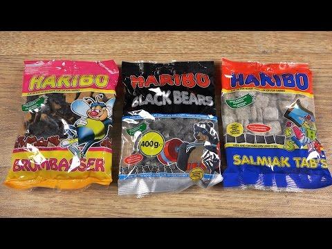 HARIBO - Lakritz Mix (Salty Liquorice)
