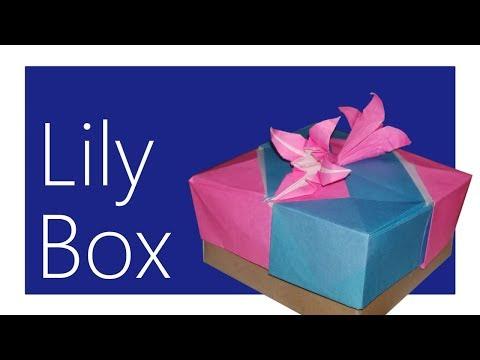 Modular Lily Box Origami Tutorial (Tomoko Fuse)