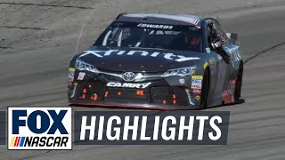 Carl Edwards Bumps Kyle Busch for Win - Richmond - 2016 NASCAR Sprint Cup