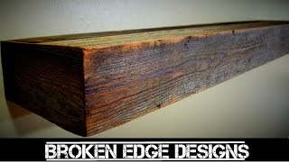 Reclaimed Wood - Floating Shelf
