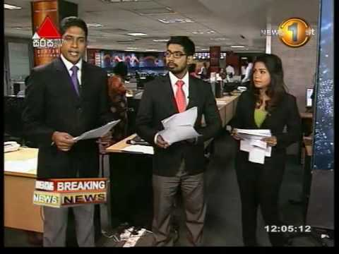 Breaking News  -12.00 Baratha Laksman Case (08092016)