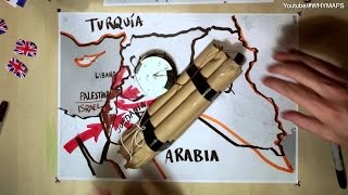 #WHYSYRIA ▶ La crisi della Siria spiegata in 10 minuti e 15 mappe