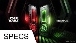 Star Wars NVIDIA TITAN Xp ti (Collector's Edition) Graphics Card SPECS + INFO