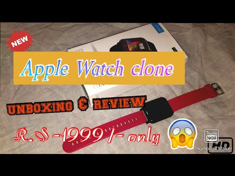 Apple watch clone in 1999/- only ....... (colorfit pro)  smart watch in cheap price 😲😲😲😲