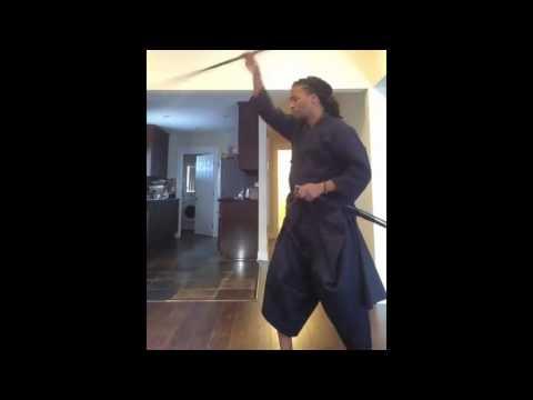 LUPE FIASCO Showing Off His SAMURAI Skills (VIDEO)