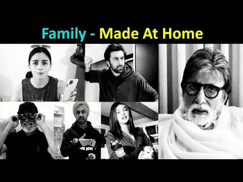 Ranbir-Alia, Rajinikanth, Amitabh, Priyanka   Top Stars Shoot A Short Family Movie In Lockdown