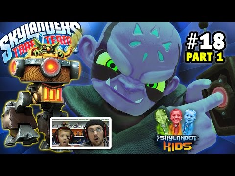 Lets Play Skylanders Trap Team: Chapter 18 - The Ultimate Weapon Part 1 w/ SMOKE SCREAM (Kaos Level)