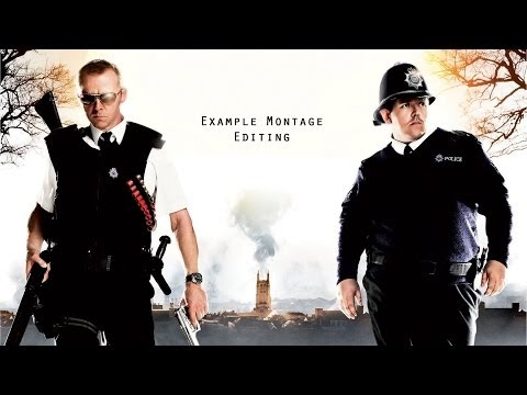 Example Montage Hot Fuzz Opening Sequence
