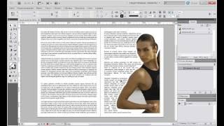 Уроки Adobe InDesign CS5 для начинающих №5 | Leonking