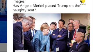 G7 Summit: Angela Merkel and Donald trump picture has gone viral