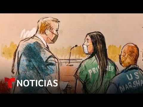 Así se comportó Emma Coronel frente al juez   Noticias Telemundo