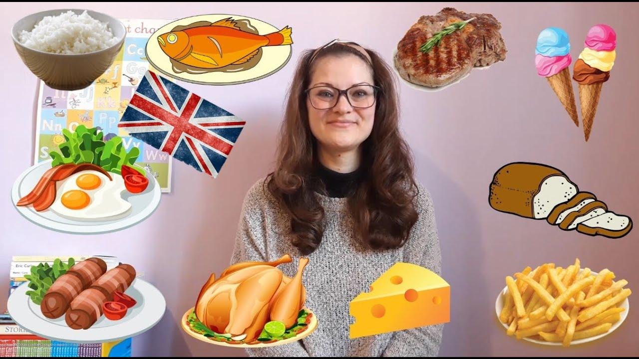 Ricette In Inglese Per Bambini.Il Cibo E I Pasti In Inglese Food Per Bambini Della Scuola Primaria Youtube